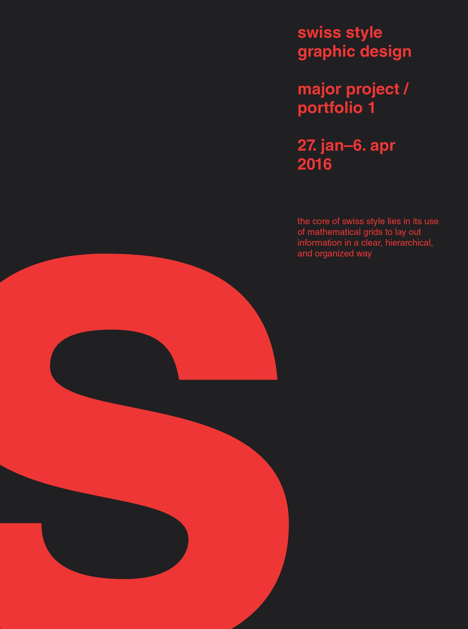 swiss style posters  u2013 keri chau design